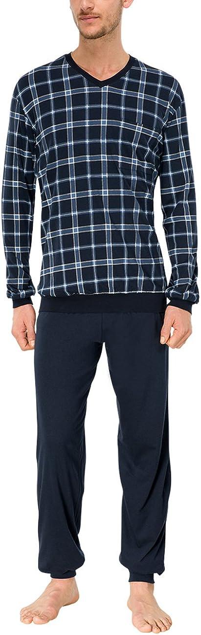 Schiesser Schlafanzug Lang Zweiteiliger Conjuntos de Pijama para Hombre