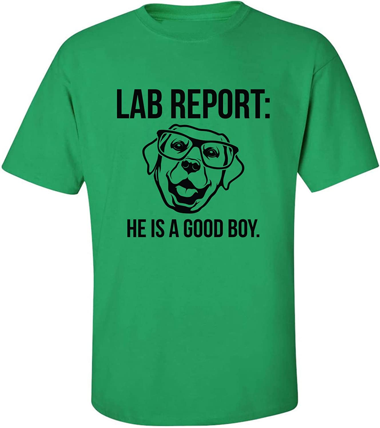 Lab Report Adult T-Shirt in Kelly Green - XXXXX-Large
