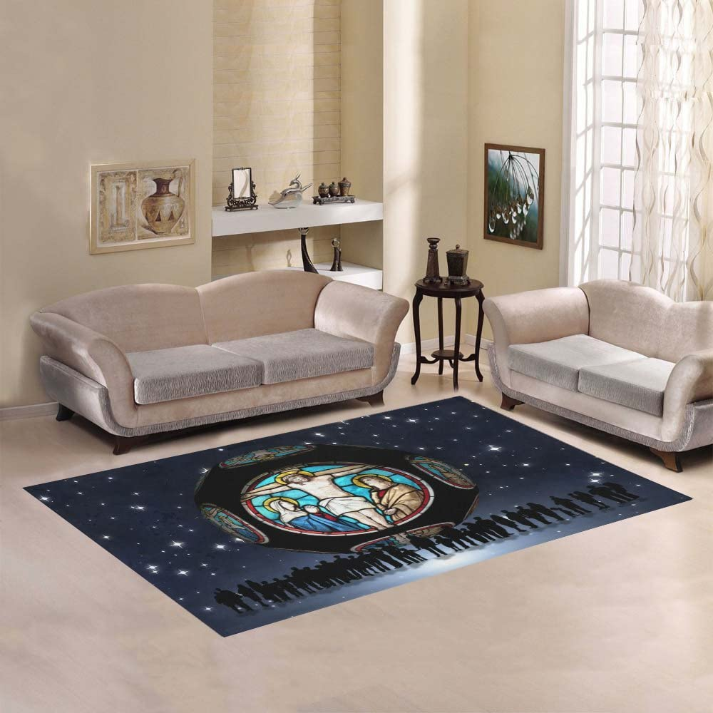 Love Nature Sweet Home Modern Collection Church Rug At the wholesale price of surprise Custom Area