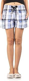 Nite Flite Blue Checks Shorts