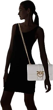 Pinko 1p21se_y6jc, Love Classic Icon Simply C Vit para Mujer, Negro, Talla única