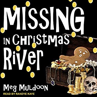 Missing in Christmas River audiobook cover art