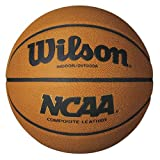 Wilson NCAA Composite Official Size Basketball