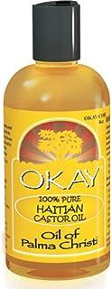 Okay 100% Pure Haitian Castor Oil, 4 oz (Pack of 10)