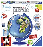 Ravensburger Italy–Disney Classics Globo 3D puzzleball, 12343