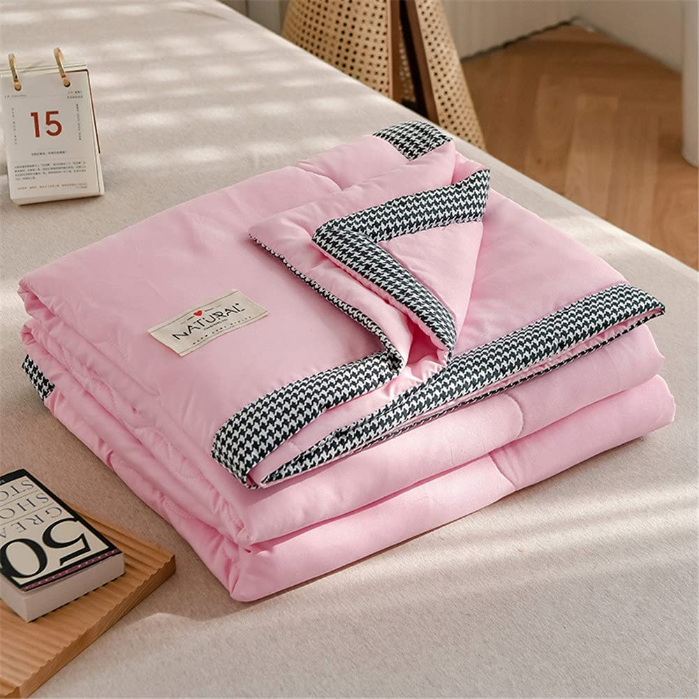 Bombing new work Summer Cooling Cotton Blanket Las Vegas Mall for Solid Hot Breathable Sleeper
