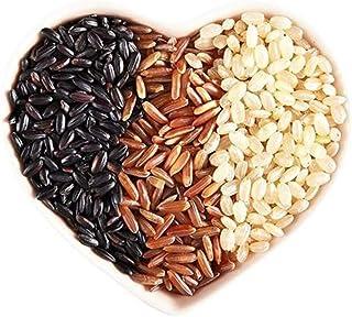 Glorious Inheriting fris en natuurlijk bruine rijst met rode rijst en zwarte rijst met nettozak van 1000 gram