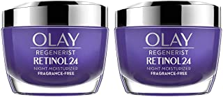 Olay Olay Regenerist Retinol 24 Night Creamcount 2 X 1.7 Ounce ( Net Wt 3.4 Ounce ),