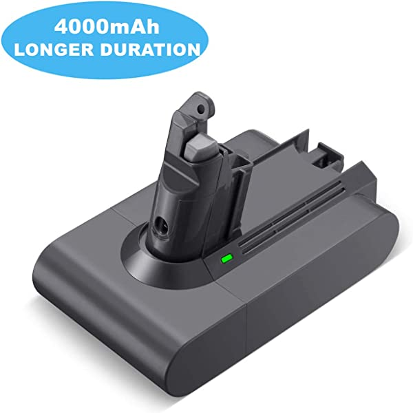 4000mAh V6 Battery 21 6v Li Ion Replacement For Dyson V6 DC58 DC59 DC61 DC62 Animal DC72 DC74 Series Cordless Handhold Pet Version Vacuum