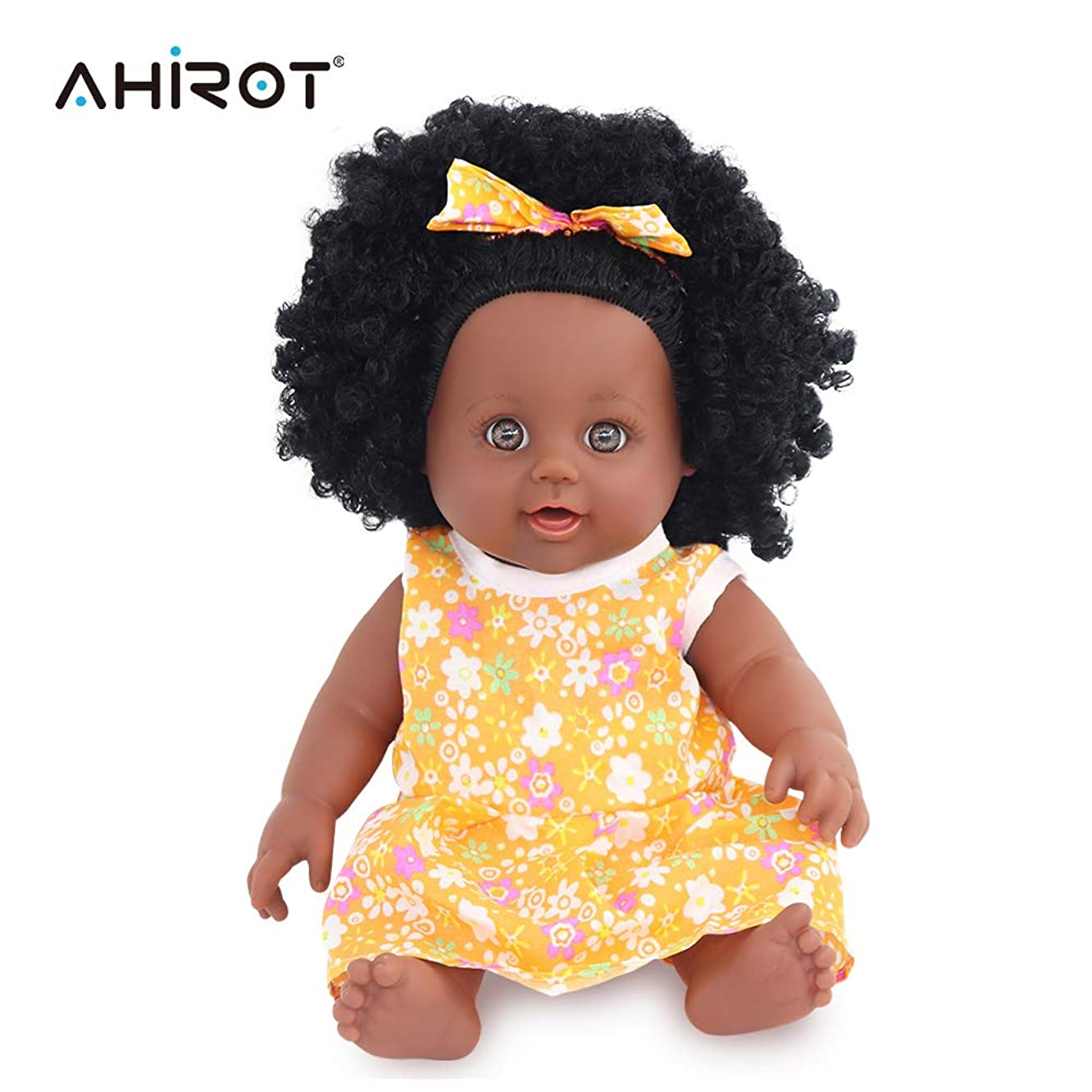 Black Girl Dolls Fashion African American Doll Lifelike 12 inch Play Dolls for Kids Perfect for Gift