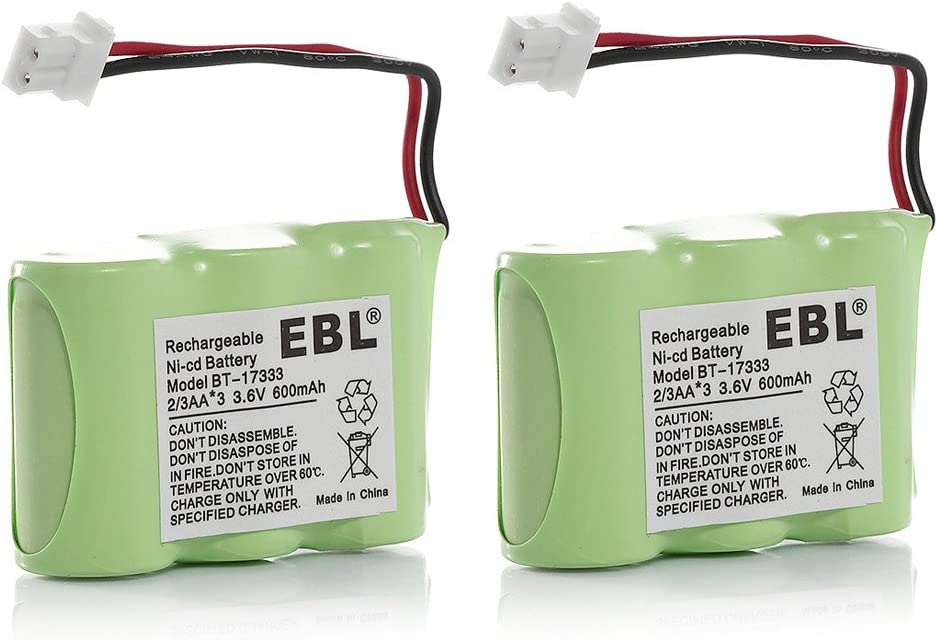 2 Pack EBL discount Replacement Cordless for Battery Phone Special price 89- Home