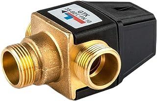 Juego C ROTOOY Válvula mezcladora termostática válvula mezcladora termostato de Cobre Llave termostática mezcladora válvula montada con Agua Suministros de limpieza y saneamiento