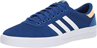 adidas Skateboarding Lucas Premiere Collegiate Royal/Footwear White/Glow Orange Men's 11,  Women's 12