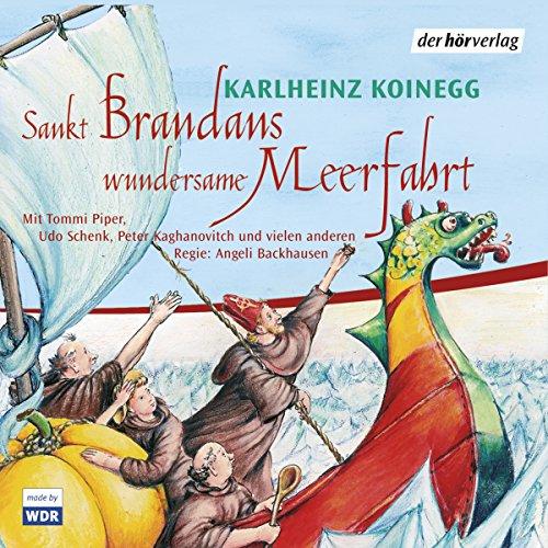 Sankt Brandans wundersame Meerfahrt Titelbild