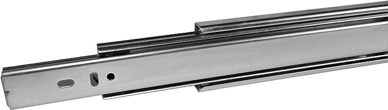 4 Paar (8 STÜCK) SO-TECH® Vollauszüge Schubladenauszüge 400 mm (eingeschoben) kugelgelagert Tragkraft 45 Kg
