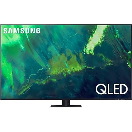 """Samsung TV QLED QE65Q75AATXZT, Smart TV 65"""" Serie Q70A, Modello Q75A, QLED 4K UHD, Alexa integrato, Grey, DVB-T2 [Escl. Amazon][Efficienza energetica classe F]"""