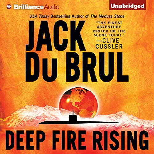 Deep Fire Rising audiobook cover art