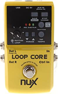 NUX Loop Core Violao Guitar Electric Effect Pedal 6 Hours Recording Time Built-in Drum Patterns Musical Instrument Parts TS Showcase