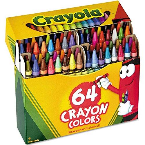 Crayola Crayons 64 ea (Pack of 3)