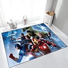 Rug Carpet The Avengers Marvel's Marvel Old Cartoon Living Room Play Room Bedroom Ball Baby Baby Crawling,60x90