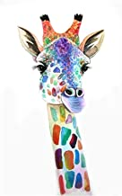 Diamond painting 5D DIY Diamond Painting Animal Giraffe 3D Embroidery Cross Stitch 5D Home Decor Gift Full Square/Round Dr...