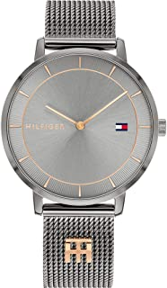 Tommy Hilfiger Women's Analogue Quartz Watch with Stainless Steel Strap 1782285