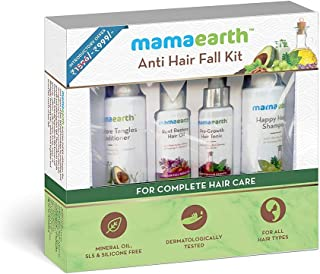 Hair Repair & Care Kit (Oil, Shampoo, Conditioner & Tonic) with Red Ginseng, Amla, Bhringraj & Milk Protien. No Harmful ch...