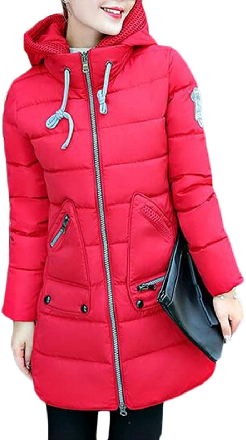 Xswsy XGCA Womens Warm Lightweight Quilted Hoodie Down Puffer Parka