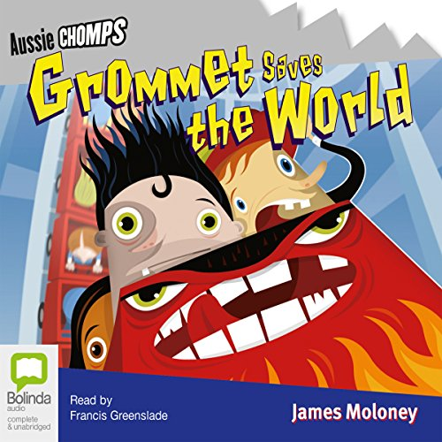 Grommet Saves the World audiobook cover art