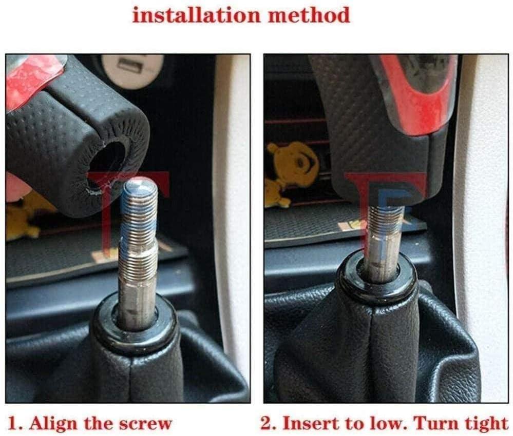 ZHAOHAOSC 3 Color Lever Stick Gearbox Handles,For Toyota Landcruiser AYGO Terios Vios Crown Verso Corolla RAV4 YARIS VITZ Gear Stick Shift Knob Cover Gear Shift Head Color : BLack