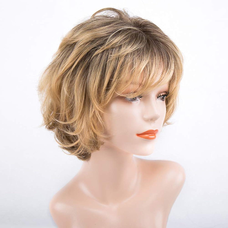 Frauen-Dame-Blonde Kurzwelle-Lockige Perücken Für Cosplay Partei-Tägliche Gebrauchs-Synthetische Natürliche HitzeBesteändige Perücke B07JR6JD57 Wunderbar  | Wirtschaft