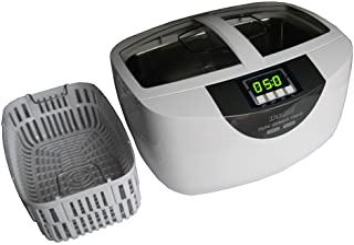 iSonic P4820-SPB25 Commercial Ultrasonic Cleaner 25-minute Timer, 2.6Qt/2.5L, WhiteColor,..