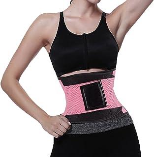 05b3ebdc6a Veepola Women s Waist Trainer Belt - Waist Trimmer - Body Shaper Sport  Girdle Belt Tummy Control