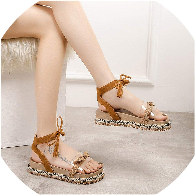 Summer Women Sandals Flat shoes New Platform Sandals Casual Lady shoes Woman Sandalias