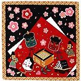 四季彩布 小風呂敷 12種類 日本製 (節分)