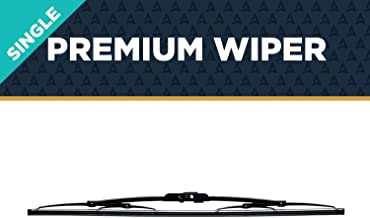 """AutoTex M5-10 M5 Traditional Metal Windshield Wiper Blade - 10"""" (Pack of 1)"""