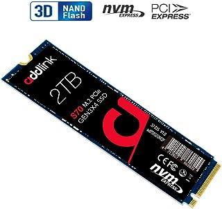 addlink SSD 2TB S70シリーズ M.2 2280 PCIe3.0×4 NVMe 5年保証 内蔵SSD ad2TBS70M2P