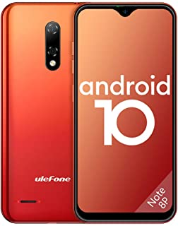 Ulefone Teléfono Móvil 2020, Note 8P Android 10 Smartphone Libre 16GB ROM (128GB SD), Pantalla 5.5