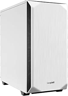 be quiet! Pure Base 500 White, ATX, midi Tower Computer case, Two preinstalled Fans