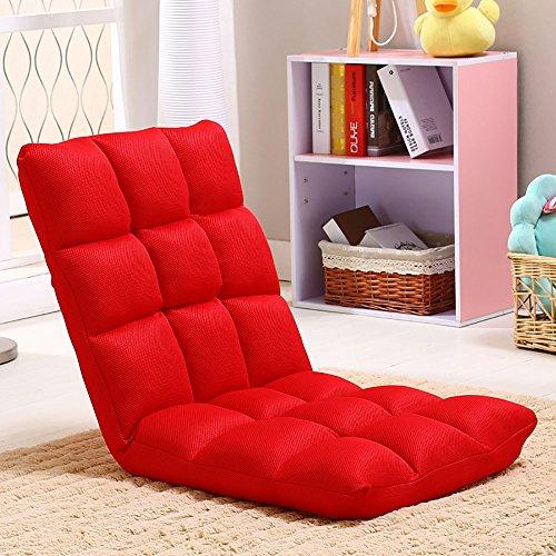GGCG Faule Sofa, Kinder Faltbare Einzel-Sofa Stuhl Matratze Stuhl Stuhl 110 * 52 cm, 3 Farben (Farbe : C)