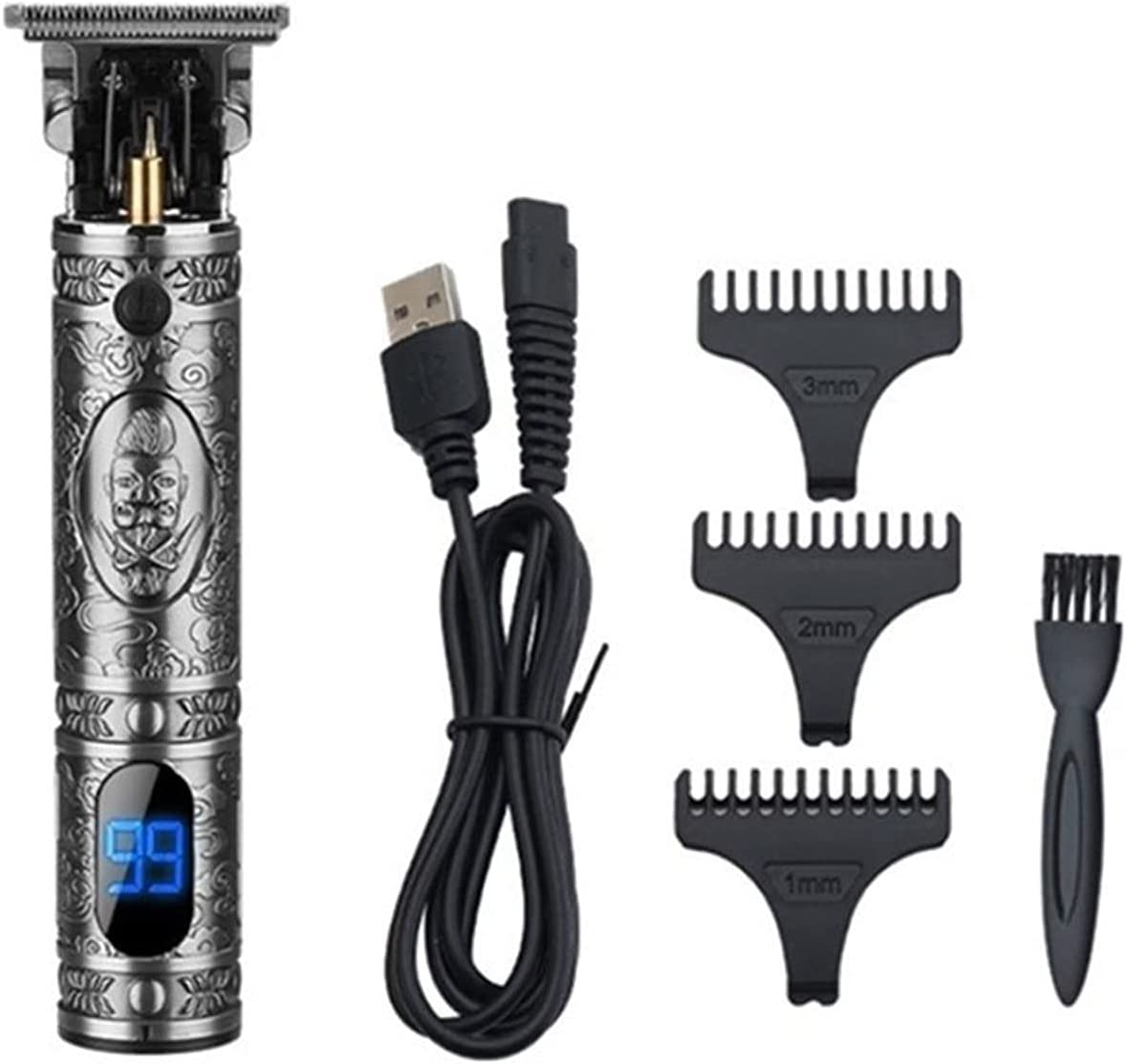 Wuleldsd Hair Clippers Men T-O Clipper Max 77% OFF Selling Professional Trimmer