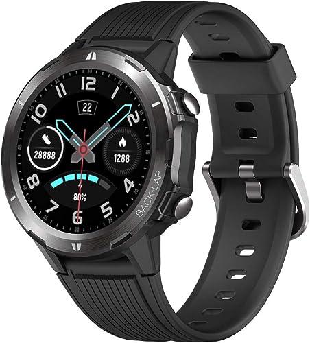 YAMAY Montre Connectée Homme Femmes Smartwatch pour Android iOS Montre Sport Cardiofrequencemetre Smart Watch Vibrant...