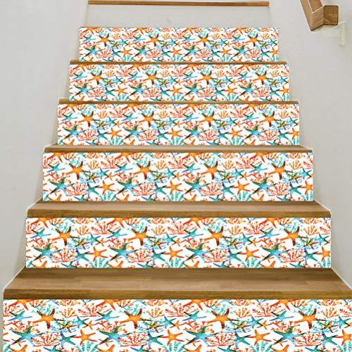 SUPVOX Escalera Elevador de calcomanías DIY Escalera calcomanía Mural de la Pared Pared del hogar calcomanías de Vinilo Pegatinas