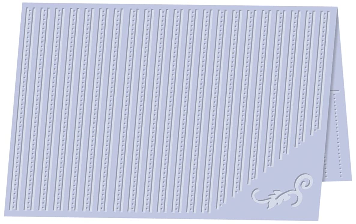 Craftwell USA Dotted Elegance Embossing Folder, 8.27 by 11.69-Inch