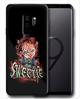 Hard Case Cover with Curse of Chucky Design Compatible with Samsung Galaxy S9 Plus (hall12)