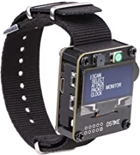 MakerFocus WiFi Test Tool ESP8266 WiFi Deauther Watch DSTIKE NodeMCU ESP8266 Programmable Development Board Built in 500mA...