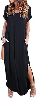 Vestidos Mujer Casual Playa Largos Verano Tie Dye Vestido