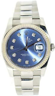 Rolex Datejust Automatic-self-Wind Female Watch 116200 (Certified Pre-Owned)