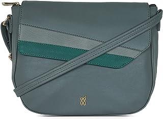 Baggit Women's Saddle Handbag (Grey)