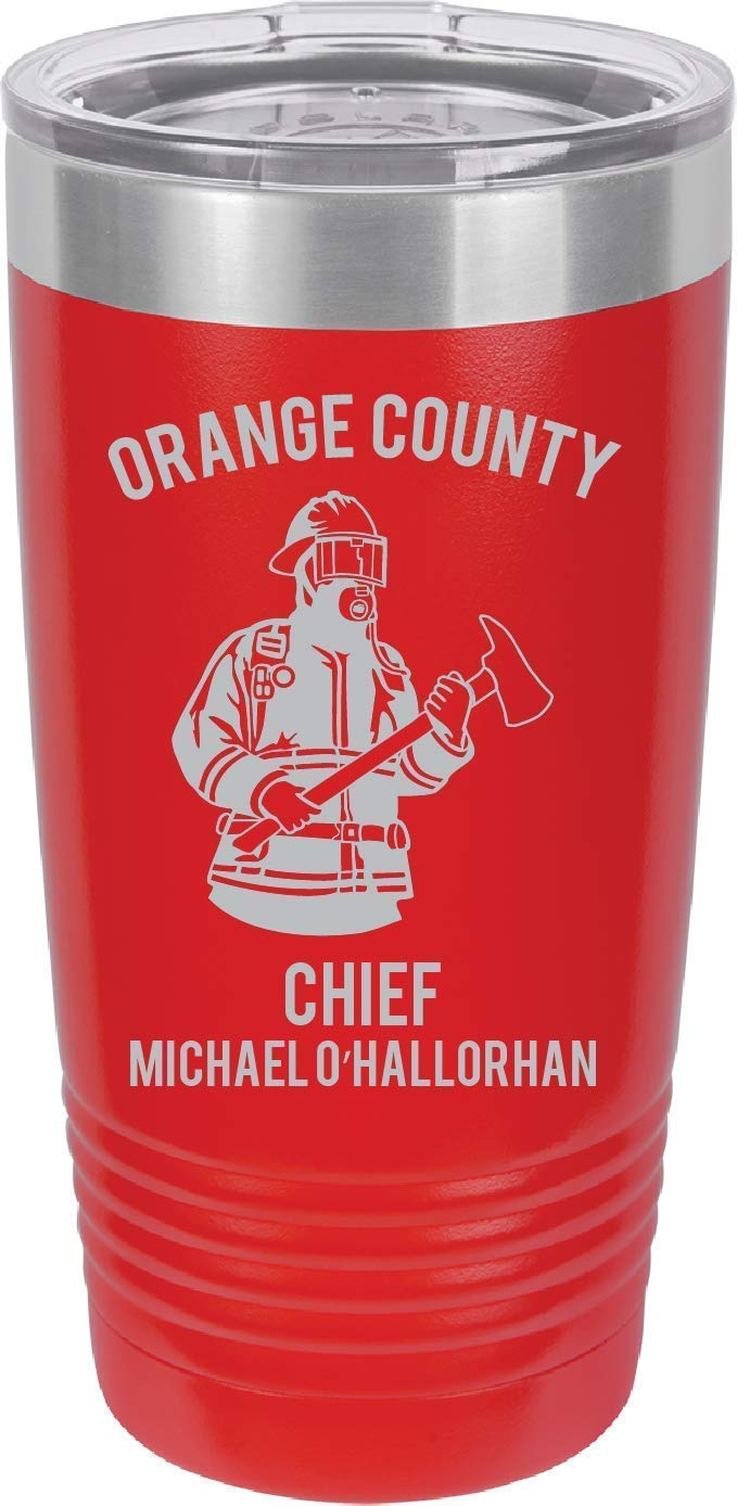 FIREFIGHTER Design - ENGRAVED Polar Double Camel Industry No. 1 Max 51% OFF Stainless Steel